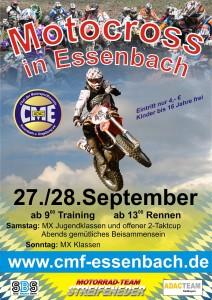 Motocross Plakat klein