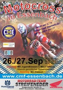 Motocrossplakat Herbst 2015