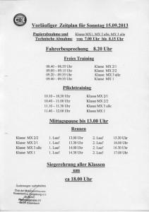 Zeitplan Seite 2