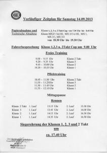 Zeitplan Seite 1